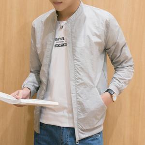【2件装】防晒衣男夏季新款韩版男夹克长袖薄款透气防晒服户外套防晒衣