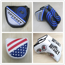 Clearance special Odyssey Odyssey golf putter sleeve half round push rod protection magnet magnet closure
