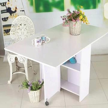 特价餐桌 现代简约饭桌 可折叠伸缩桌 个性小户型桌子长方形