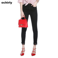 Jeans for women Ochirly 1jy1066060 2017