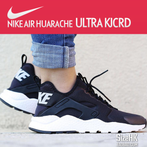 Nike Air Huarache RUN Ultra耐克华莱士男鞋女鞋黑白819151-001耐克男鞋
