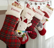 Christmas stockings Christmas gifts bags Christmas socks Christmas gift can be personalized embroidered velveteen